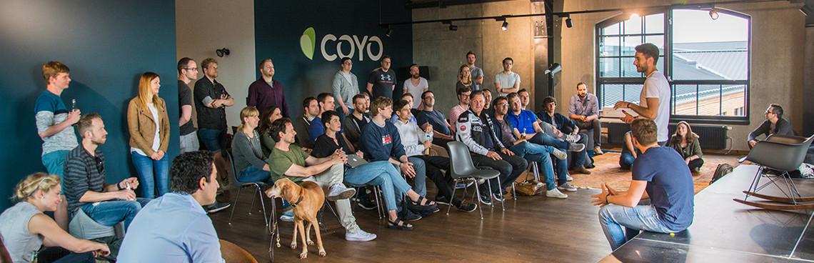 COYO'S NEW OFFICE: Raum für mehr …